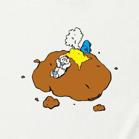 墜落先はジャガバターTシャツ