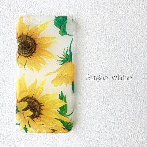 iPhone ケース ❤︎ sunflower                 向日葵