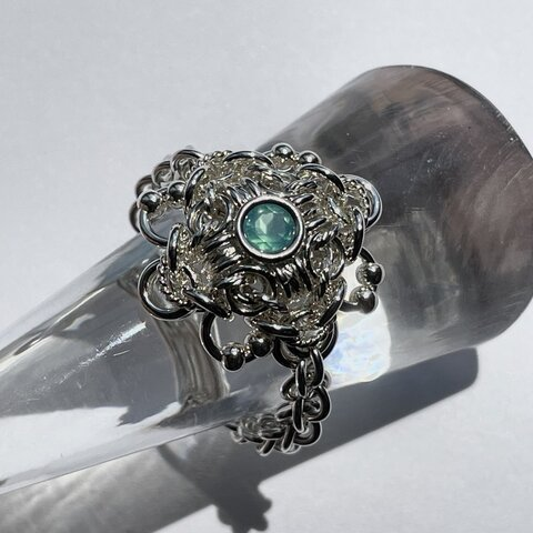 『 Wind flower ( SS-sbc21' ) 』Ring by SV925