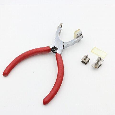 サイレント菱目打ち 2歯 4歯 レザークラフト工具 b74