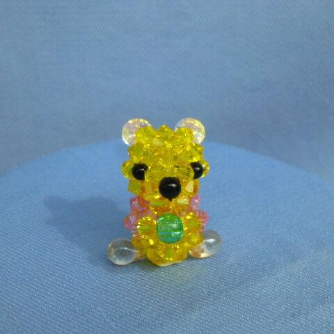 ビーズ子熊アクセサリー🐻