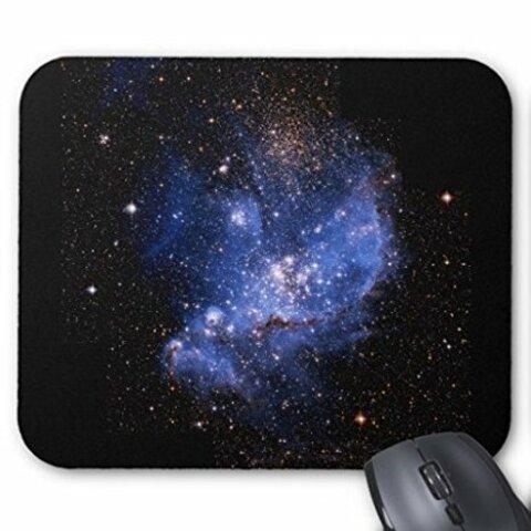 小マゼラン星雲のマウスパッド:フォトパッド(宇宙シリーズ) (トリミング-A)