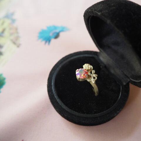 「PleasureⅢ」薔薇の指輪(ローズオーロラ)