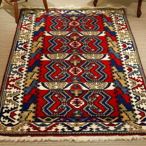 手織り絨毯 ハンドメイド カーペット kilim ✳︎国内送料無料