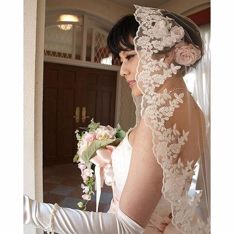 マリアベール ロングベール300cm 結婚式【メリッサ】