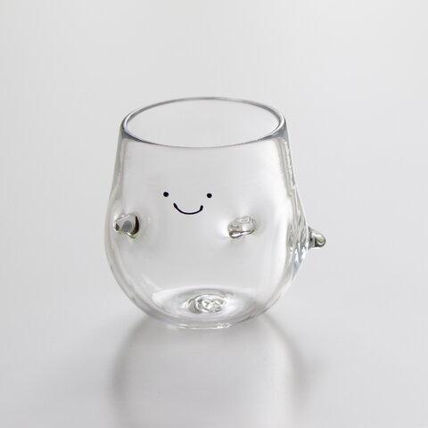 おばけのグラス・透明《1個》