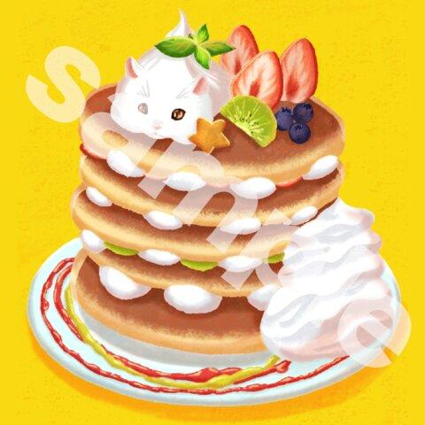 パンケーキになりたいハムスター ポストカード