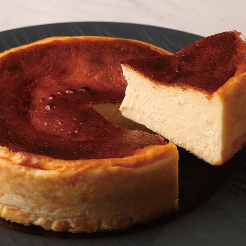 とけだすバスクチーズケーキ塩味「しおバス」ホールケーキ12cm(プチギフト, ギフト)
