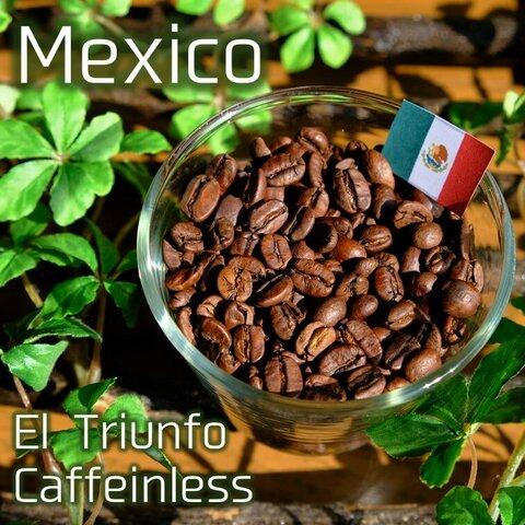 【中深煎り】カフェインレス メキシコ エル・トリウンフォ 200g