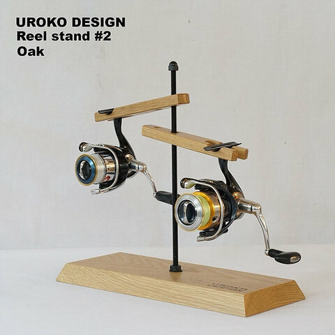 Reel stand 2台用 (オーク)