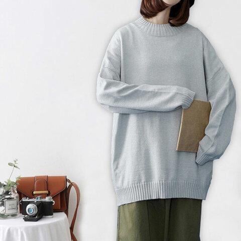 手編み 初秋に セーター  ファッション ゆったり 着痩せ 暖かい  ニット ニット  セーター 通学 通勤トップス