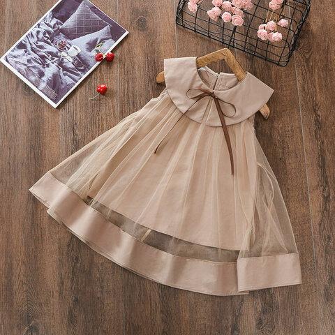 再販売チュールワンピース ベビー服 誕生日 ベビードレス 女の子 かわいい 100 110 120子供 キッズ 発表会