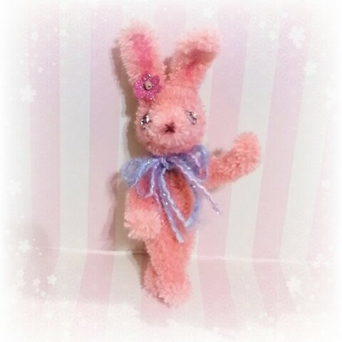 【送料無料】モールアニマル「レトロポップなウサギ」dollnodoll