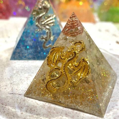 ゴールドドラゴンオルゴナイト(gold)