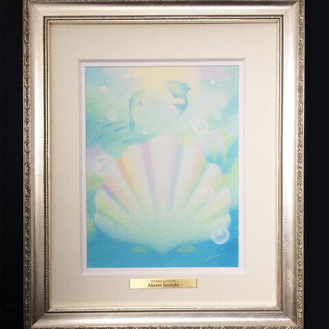 絵画(ジークレー版画)【Dolphin】