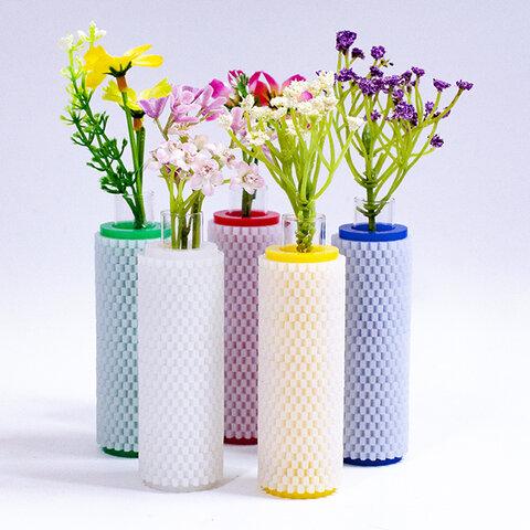 雪の花瓶 #01
