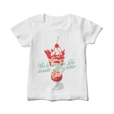 イチゴパフェTシャツ