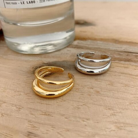 《gold》S925 ring【R-06G】