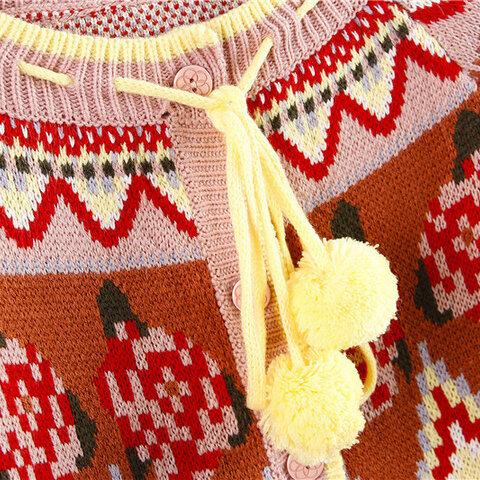 受注制作  春秋 可愛いセーター コート