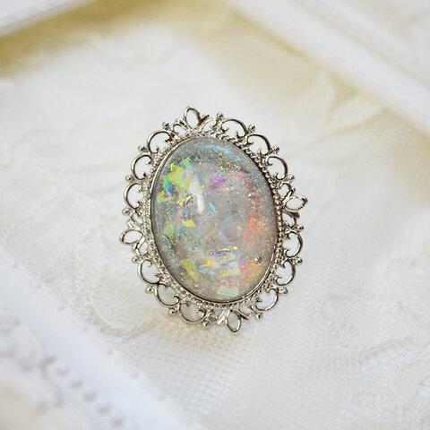 """""""Vega"""" Vintage Frame Ring"""