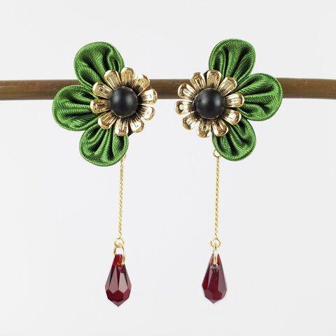 autumn khaki (earring / pierce)