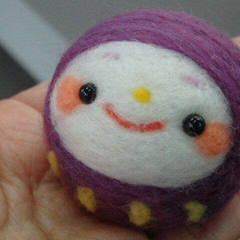 紫色のだるまさん☆彡