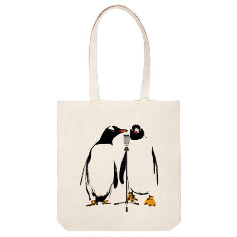[トートバッグ] comedian penguin
