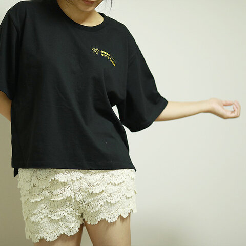 オーバーTシャツ ディープブラック