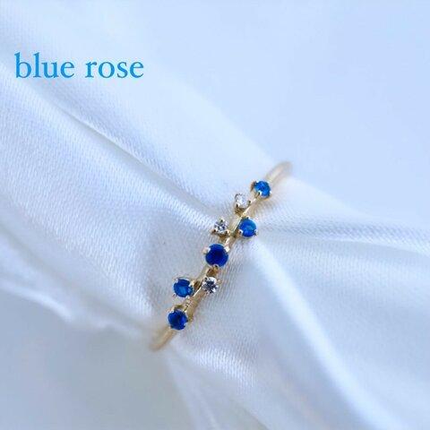 flower blue rose アウイナイト×ダイヤモンド