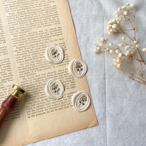 Rose  ¦  Sealing Wax Seal  10枚set