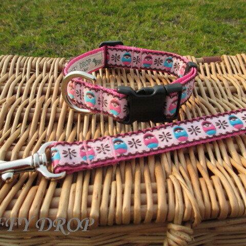 再…販*マトリョーシカのリード&カラー セット 2cm幅(小型犬~中型犬)