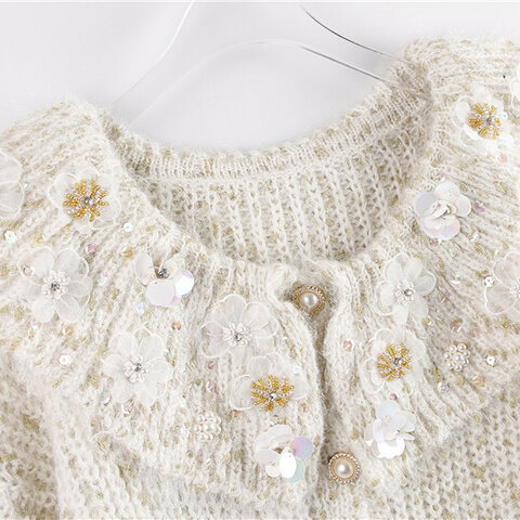 受注制作  秋と冬*可愛いセーター コート