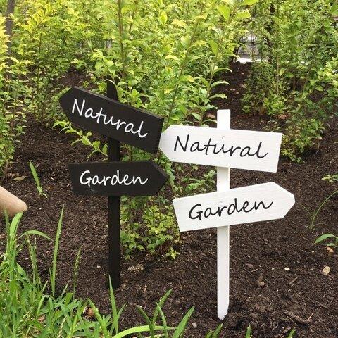 木製ガーデンピック(Natural)