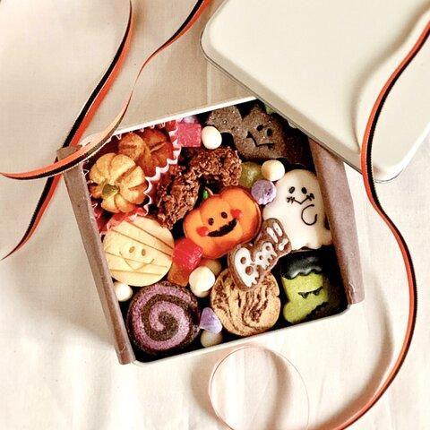 【10月限定】ハロウィンクッキー缶