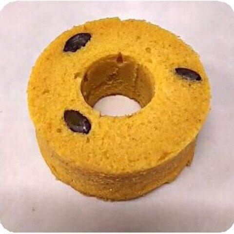 BP不使用!米粉とおからのシフォン酵母ケーキ~かぼちゃ~【自家製天然酵母】