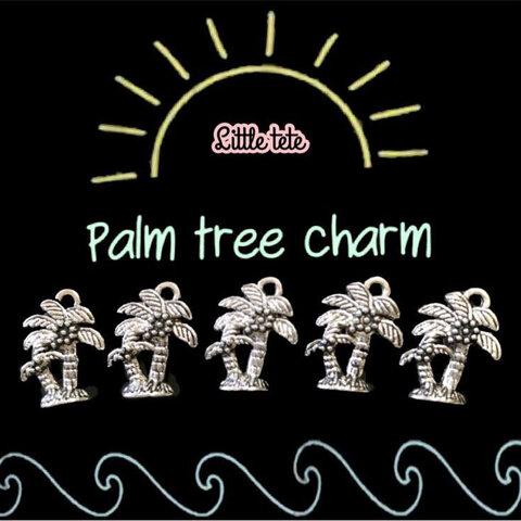 palm tree charm 5個