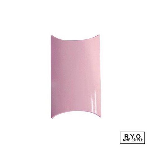 ピローケース 紙箱 Mサイズ ピンク お得な50枚セット