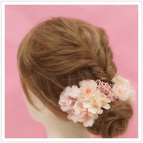 桜 髪飾り 成人式 桜髪飾り #桜