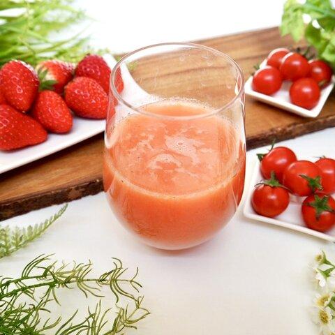 レッドスムージー『とちおとめ苺と有機トマトのスムージー 』