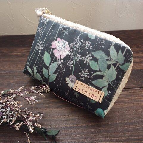 ラミネート の サイフ・ハーフ(シック)薄い 軽い 小さい 財布♪