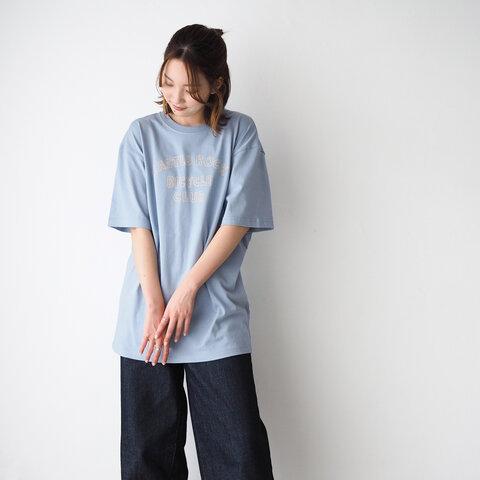 CBC LOGO TEE Smoky blue×Beige(Tシャツ)