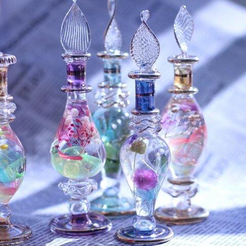 クレオパトラハーバリウム  ギフト ハーバリウム ファンシー ガラス エジプト 香水瓶