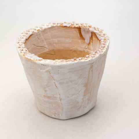 陶器製(3号ポット相当) 多肉植物の欲しがる植木鉢 SMM-260
