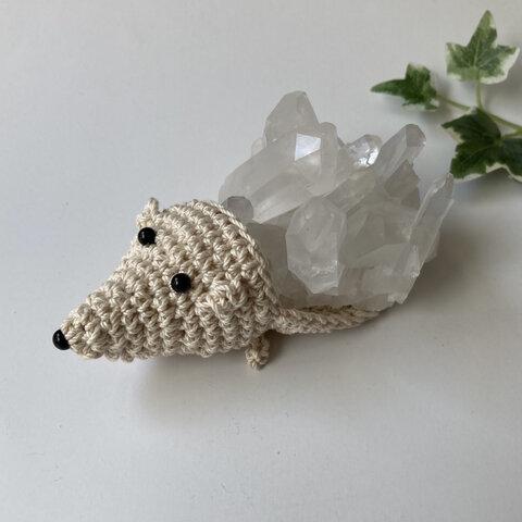 🌿天然石浄化🦔 ハリネズミ水晶  空間浄化