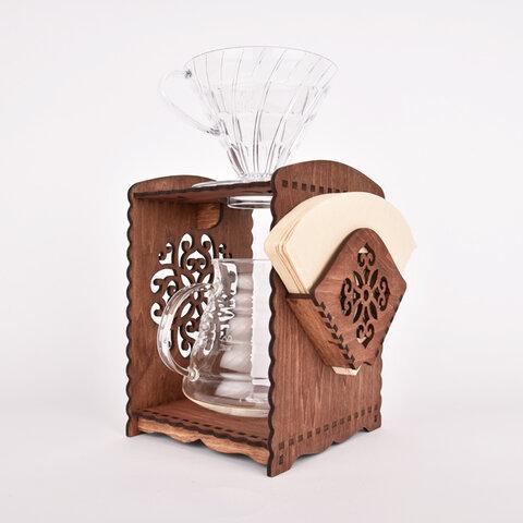 コーヒーブリューワー ブロッサム(木製ドリップスタンド)