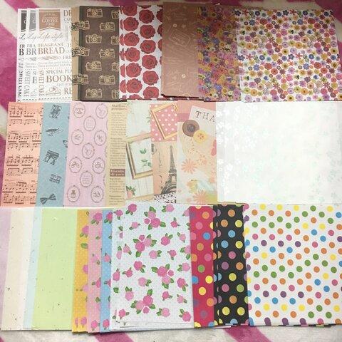 【まとめ売り】折り紙/デザインペーパー200枚セット売り