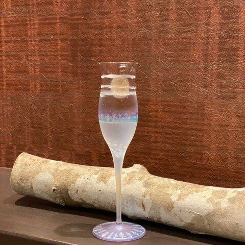 【日本の四季】冬(夜明け)夜空月見グラス1個|結婚祝い・敬老の日・両親プレゼント・還暦祝い・退職祝い・誕生日プレゼント・外国人プレゼント