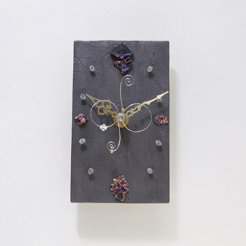 ビスマス時計(15x9cm)