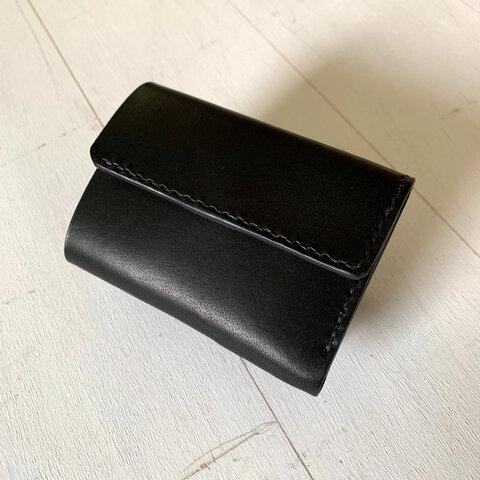 【現品SALE】生活が変わるミニ財布「life」|ブラック