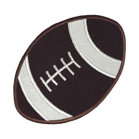 Football(フットボール)【大きい】 アップリケ (PM-Football)